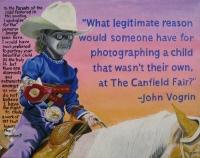 """Can Social Fear-""""14x18"""" Acrylic Painting"""
